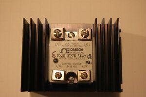 Omega Solid State Relay Ssr Model Ssr240dc10