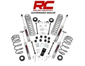 97 02 Jeep Tj Wrangler 6 Cylinder 4wd 3 25 Rough Country Lift Kit W N3 642 20