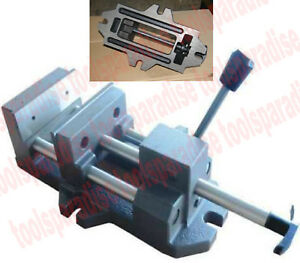 Precision Large 6 Jaw Drill Press Vise 1 7 8in Throat Depth Quick Release Vice