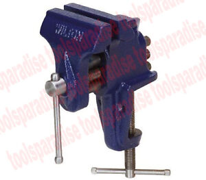 Wilton Small 3 Clamp On Bench Top Table Base Vise Anvil Pipe Jaw Built in