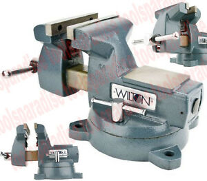 Pro Mechanic Shop Wilton 8 Spinning Swivel Base Vise Large Anvil Bench Vice