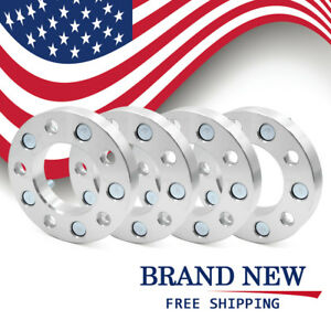 4pcs 5 Lug 1 Thickness Wheel Spacers Adapters For 2006 2010 Jeep Commander