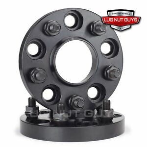 2 Wheel Spacers 5x120 7 Hubcentric 20mm Black 5x4 75 Fits Corvette 1984 2017