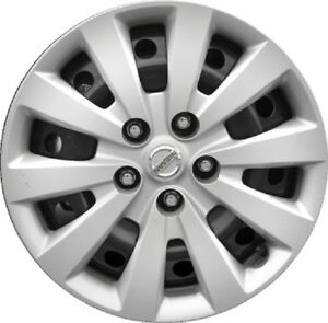 Genuine Authentic 2013 2016 Nissan Sentra Leaf Hubcap 16 Wheel Cover Free Ship
