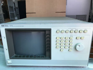 Hp 54120b Color Digitizing Oscilloscope Mainframe Calibration May Needed