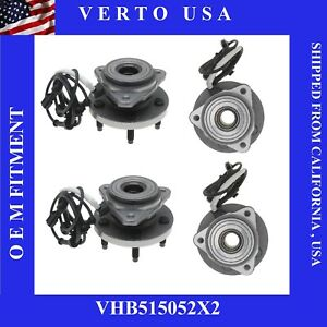 2 Front Hub Bearings For Ford Explorer Ranger Based On Fitment Chart