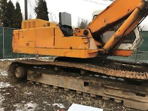 1995 Daewoo Dh320 Excavator With Grapple Fixer Upper Please Read New Jersey