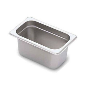 Stainless Steel Steam Table Pans 1 9th Size 4