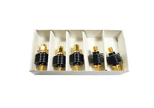 5 Pcs Mini circuits Vat 1w2 Coaxial Sma Fixed Attenuator 2w 1db 6ghz