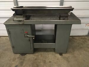 South Bend 10l 10r Heavy 10 Metal Lathe Cabinet Desk Stand Base