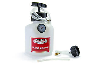 Motive Products Brake Power Bleeder Audi Bmw Porsche Vw European Adapter 0100
