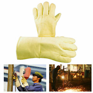 Hot Gloves High Temperature Heat Resistant Furnace Melting Glove 14 Hi temp Usa