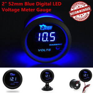0 15v Motorcycle Car Dc Digital Led Display Voltmeter Voltage Gauge Panel Meter