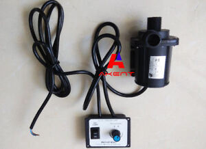 Dc Water Pump 12v 24v 3 Phase Hot Water Fountain Pump 2200l h 3000l h Flow Max