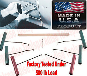Auto Body Panel Sheet Metal Dent Hand Pull Pick Rod Hook Puller Tool