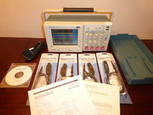 Tektronix Tds3054c 500 Mhz 4 Ch 5 Gs s Digital Oscilloscope Calibrated