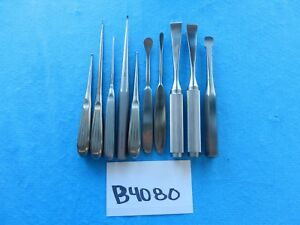 Jarit V Mueller Surgical Orthopedic Instruments Lot Of 10