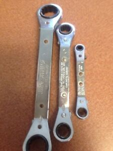 Blue Point 3 Piece Standard Ratcheting Box Wrench