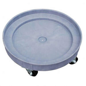 Pake Handling Tools Plastic Drum Dolly For 30 Gal And 55 Gal Drums 900 Lb Cap