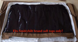 1997 2006 Jeep Wrangler Only Fits Smittybilt Soft Top Rear Tinted Window Spice