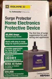 Square D Hepd80 Surge Protector