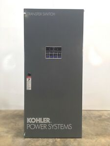 New Kohler Power System Kct acta 0400s Automatic Transfer Switch 400amp
