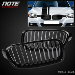 Front Kidney Grille Black For Bmw F30 f35 320li 325i 328i 335i 2010 2011 2012