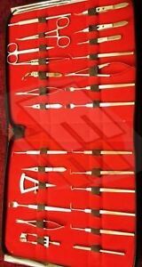 Strabismus Ophthalmic Eye Micro Surgery Surgical Instruments Kit 27 Pcs