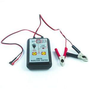 Electronic Fuel System And Fuel Injector Pressure Tester Led Display