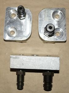 Set Of 3 Ford Rotunda A C Air Conditioning Test Adapter Tools