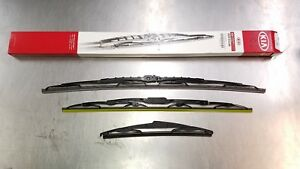 New Oem Kia Wiper Blade Set For 2011 2015 Sorento All 3 Blades