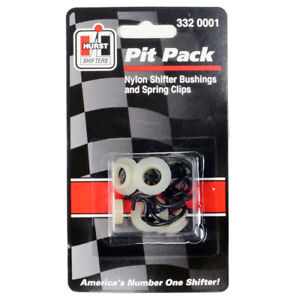 Hurst 3320001 4 Speed Competition Plus Pit Pack Clips Nylon Bushings 7 Each