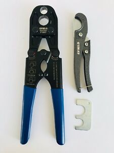 1 2 And 3 4 Pex Combo Crimping Tool For Copper Rings With Metal Cutter Gonogo