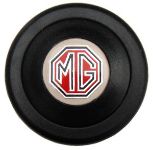Mg Emblem Sports Steering Wheel Replacement Horn Button