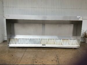 12 Ft Commercial Vent Hood Restaurant Exhaust Hood System 2905