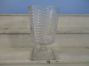 Art Deco Clear Glass