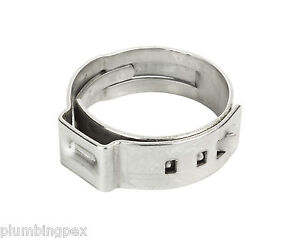 Pex Oetiker Stainless Steel Crimp Ring 1 300 Pack