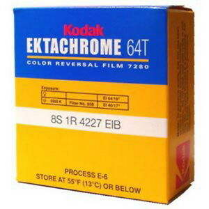 kodak super 8 ektachrome 64t color