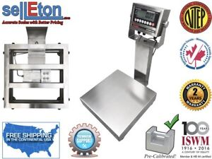 Op 915ss Ntep Legal For Trade Stainless Steel Washdown Bench Scale