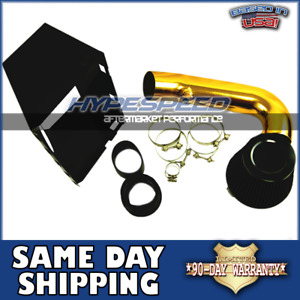 4 Cold Air Intake Gold Head Shield For 2009 2015 Dodge Ram 1500 2500 3500 5 7l