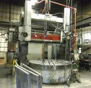 Webster Bennett 108 Vertical Boring Mill 120 Swing
