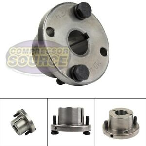 3 4 Bore H Style Steel Sheave Pulley Bushing Split Taper For Keyed Shaft