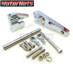 Sbc Small Block Chevy Chrome Billet Aluminum Air Conditioning A C Bracket Short