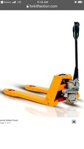 Electric Pallet Jack Semi Electric Pallet Jack