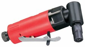 Dynabrade 18010 Autobrade Red Right Angle Die Grinder 20000 Rpm Rear Exhaust