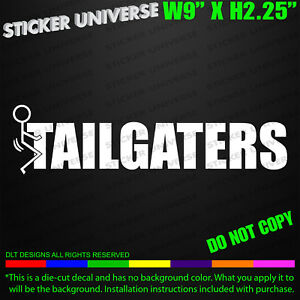 Anti Tailgaters Funny Car Window Decal Bumper Sticker Road Rage Tailgating 0671