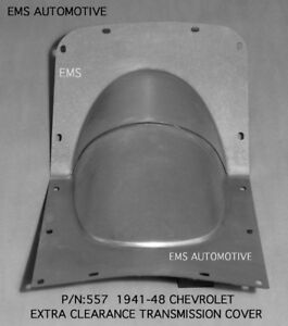 Chevrolet Chevy Car Enlarged Trans Cover Hump For Oem Floor 1941 1948 557 Ems
