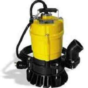 Wacker Neuson Pst2 400 Submersible Pump Trash 110v 60hz 1 2 Hp 20 Cord