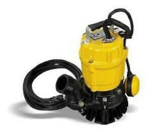 Wacker Neuson Pstf2 400 Submersible Pump W float 110v 60hz 1 2 Hp 20 Cord