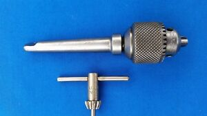 Vintage Jacobs No 1 Drill Chuck 0 To 1 4 On A No 1 Morse Taper W key